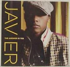 """Javier: The Answer Is Yes PROMO MUSIC AUDIO CD """"The Voice"""" TV star LP w/ Artwork"""