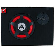 "6"" 350W Under-Seat Car Audio Subwoofer Powered Speaker Amplifier"