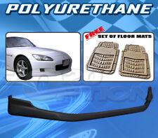 FOR HONDA S2000 S2K 00-03 T-R FRONT BUMPER LIP + DICKIES FLOOR MAT TAN