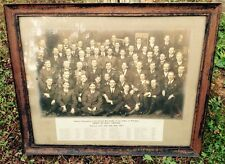 1913 MASONIC SCOTTISH RITE OF THE VALLEY OF WHEELING, WV PHOTOGRAPH, FRAMED