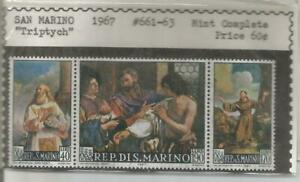 Triptych Stamps