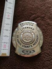 US Security Badge