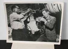 "Vintage 1966 Nbc Press Photo Louis Armstrong Danny Kaye ""Five Pennies"""