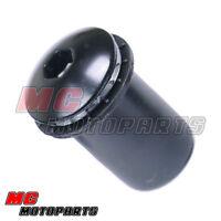 Black Windscreen fairing bolts Yamaha YZF R6 R1 Fazer 01 02 03 04 05 06 07 08 09