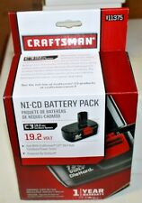Craftsman C3 Cordless Drill Driver 19.2 volt NiCd Battery Pack 911375
