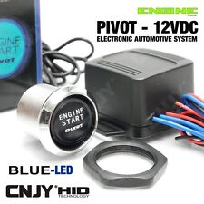 KIT ENGINE START DEMARRAGE ELECTRONIQUE SANS CLE - PIVOT-ILLUMI STARTER LED BLEU