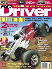 RC Driver magazine Short course Scale crawlers Buggies Team Durango Tamiya Losi