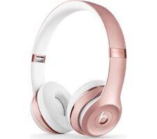 Beats by Dr. Dre Solo Auriculares inalámbricos de cinta 3-Oro Rosa