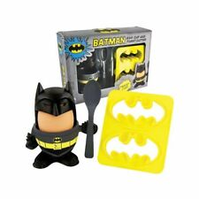 Kit coquetier et decoupe toast  Batman egg cup with toast cutter