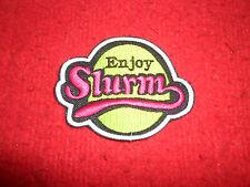 Enjoy Slurm Embroidered Patch Futurama Bender Fry