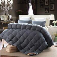 Luxury 100% duck goose down duvet comforter winter blanket  wash cotton colorful