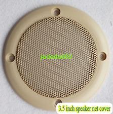"2pcs 3.5""inch 107mm car speaker net cover Speaker grille Sound modified net cove"