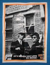 POSTER RARO! - THE BLUES BROTHERS - IT'S NEVER TOO LATE TO MEND! - 40,9 X 55,7