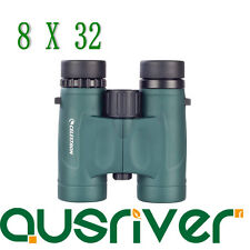 Celestron Nature DX 8x32 Binoculars BAK-4 Eyeglass Friendly Christmas Gift 71330