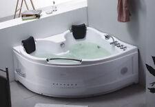 Vasca idromassaggio da bagno 155x155 per due persone con miscelatori inclusi |22