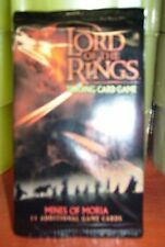 Lord Of The Rings Mines Of Mora  booster pack ccg cards