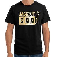 Jackpot Casino Dollars Girls Slot Machine Sprüche Geschenk Lustig Spaß T-Shirt