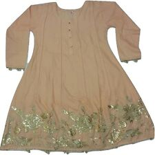 New Indian Bollywood Frock Fancy embroided Designer Ladies Women Dress Pakistani
