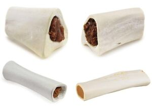 Natural Filled Dog Bones USA Made Healthy Dental Refillable Tough Chew Treats