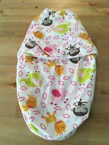 Baby Swaddle Wrap Blanket Size 000 Newborn New Winter Sleeping Bag Infant Girl