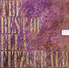 Ella Fitzgerald The Best Of CD NEW SEALED Jazz Hubert Laws/Joe Pass/Zoot Sims+