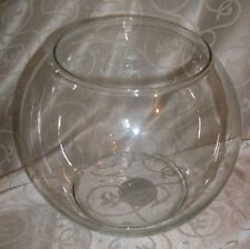 """Indiana Glass 8"""" Crystal Rose Bowl-New, Item #30088"""