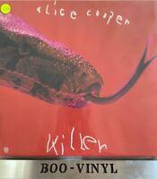 Alice Cooper Killer German vinyl LP album record WB56005 WARNER BROS Ex+ Con