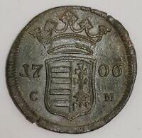 Hungary X Poltura 1706 C-M Kaschau RARE
