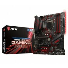 MSI Z390 GAMING PLUS Z390 Gaming Plus ATX Motherboard LGA1151 9Gen DVI-D/HDM WP.