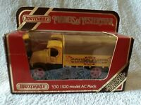 DIECAST MODEL MATCHBOX YESTERYEAR Y30 AC MACK CONSOLIDATION LIMITED EDT TRUCK
