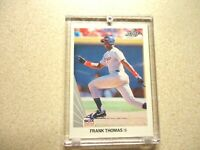 1990 LEAF FRANK THOMAS ROOKIE CHICAGO WHITE SOXES MINT CONDITION IN HOLDER