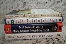 lot of 5 VALUE INVESTING GLOBAL BARGAIN HUNTING SAGE MUTUAL FUNDS REPORT CARD &