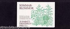 Sweden - 1993 Flowers Booklet - U/M - SG SB458