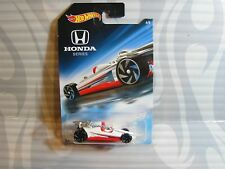 2018 HOT WHEELS ''honda series'' #6 =  HONDA RACER = WHITE