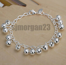 Silver 925 Bell Gypsy Indian Bracelet Beautiful  Jewellery UK