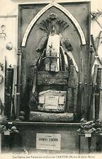 Carte Les Débris des Vaisseaux de Jacques Cartier Musée de SAINT MALO