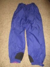 Vintage COLUMBIA  REVERSIBLE PURPLE SNOW PANTS SHELL W's LARGE ALMOST PERFECT