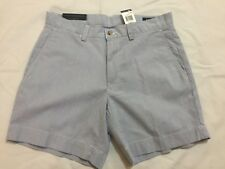 "NWT, POLO RALPH LAUREN MEN'S 6""INSEM CLASSIC FIT SHORTS -BLUE- STRIPES"