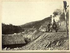 c1905 | Frederico Lange | RAILWAY ponta grossa BRAZIL | rare ORIGINAL photograph