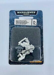 Warhammer 40K Metal Limited Edition PR09 BLACK TEMPLAR CAPTAIN DRACO 2000 BNIB
