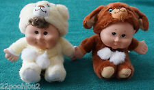 Set Of 2 Cabbage Patch Dolls In Costums