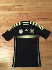 Team Spain Rfcf Adidas Climacool Fifa World Champions 2010 Men's Soccer Jersey S