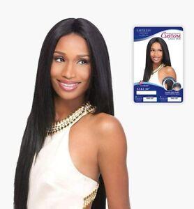 Sensationnel Synthetic Long Lace Front Wig Empress Edge Custom Lace Yaki 30