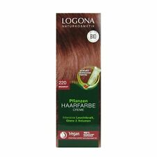 (8,97 EUR/100 ml) Logona Pflanzenhaarfarbe Color Creme 220 Weinrot 150 ml