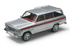 LS Collectibles 1963 Jeep Grand Wagoneer Silver 1/18 Scale New Release LE of 100