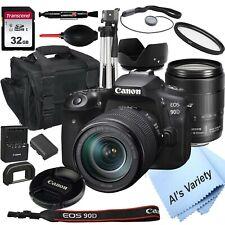 Canon Eos 90D Digital Slr Camera with 18-135mm Is Usm Lens + 32Gb Bundle