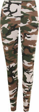 Camouflage Machine Washable Plus Size Leggings for Women