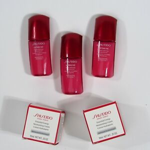 Shiseido Ultimune Power Infusing Concentrate x3 & Essential Energy Cream x2