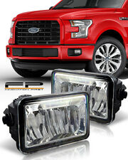 2015 2016 2017 Ford F150 LED Bumper Replacement Fog Light Housing Assembly Pair