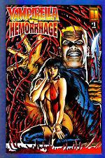 VAMPIRELLA vs HEMORRHAGE # 1 B - 1997 Harris Comics  (vf-)